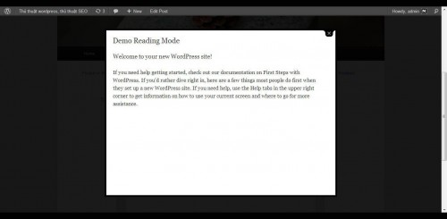 Demo Reading Mode