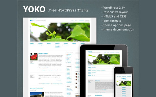 Wordpress responsive theme 16